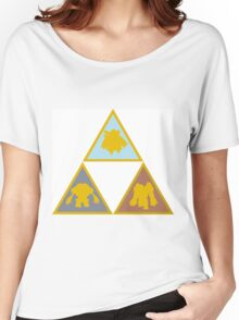 Pokemon Triforce - The Golem Trio Women's Relaxed Fit T-Shirt