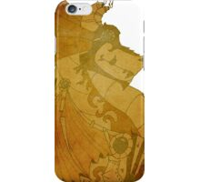 copper steampunk dragon iPhone Case/Skin