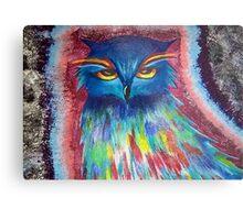 Psychedelic Owl  Metal Print