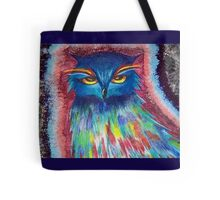 Psychedelic Owl  Tote Bag