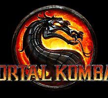 Mortal Kombat Logo Official by FightShop