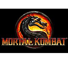 Mortal Kombat Logo Official Photographic Print