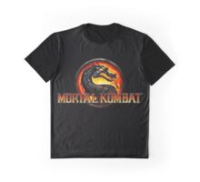 Mortal Kombat Logo Official Graphic T-Shirt