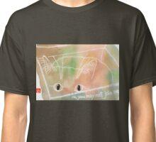 cat in a box (v.2) Classic T-Shirt