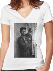 Fresh Prince And Jazzy Jeff Women's Fitted V-Neck T-Shirt