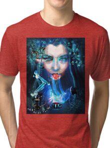 ALICE LOST IN WONDERLAND Tri-blend T-Shirt