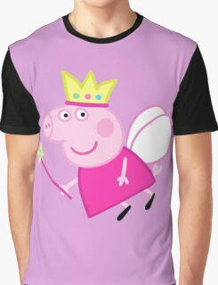Peppa pig fairy Graphic T-Shirt