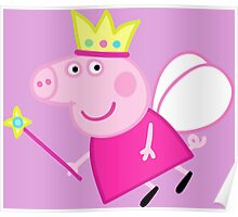 Peppa pig fairy Poster