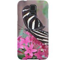 Striped Beauty - Butterfly Samsung Galaxy Case/Skin