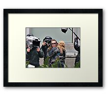 clexa season 3 Framed Print