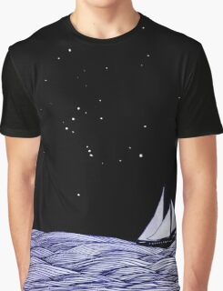 Sailing under Orion Graphic T-Shirt