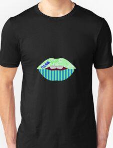 TULANE KISS LIPS Unisex T-Shirt