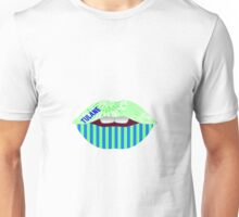 TULANE KISS LIPS Unisex T-Shirt