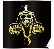 darth vader parody : thug life, dark side Poster