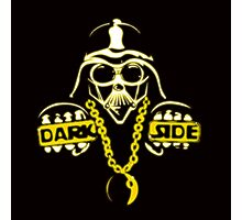 darth vader parody : thug life, dark side Photographic Print