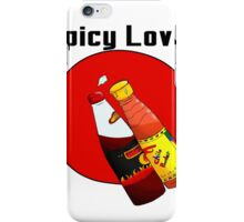 spicy Love iPhone Case/Skin