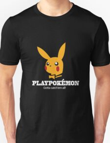 Pokemon Playboy T-Shirt