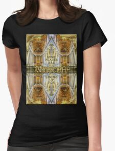 Worth Lining Up For Versailles Palace Chapel Paris Womens Fitted T-Shirt