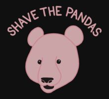 Shave the Pandas One Piece - Long Sleeve
