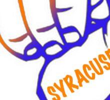 SYRACUSE UNIVERSITY HAND Sticker