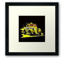 Volkwagen Hotrod Framed Print