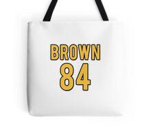Antonio Brown Jersey Away/White Tote Bag