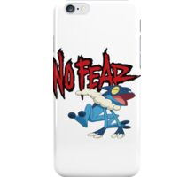 NoFearFrogadier logo iPhone Case/Skin