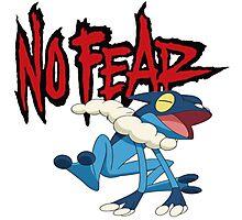 NoFearFrogadier logo Photographic Print