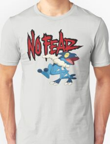 NoFearFrogadier logo T-Shirt