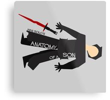 Anatomy of a Son Metal Print
