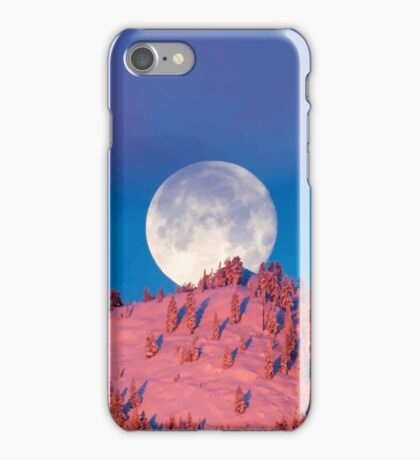 Mystic Mountain Moon  iPhone Case/Skin