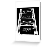 For the Photographers. Greeting Card