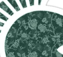 Spartan Floral Sticker