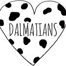 Dalmatian Love by Bundjum