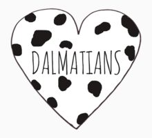 Dalmatian Love One Piece - Short Sleeve