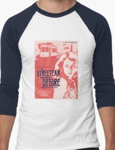 A Streetcar Named Desire Men's Baseball ¾ T-Shirt