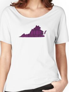 Virginia, My Home Sweet Home, I Wanna Give You A Kiss Women's Relaxed Fit T-Shirt