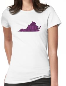 Virginia, My Home Sweet Home, I Wanna Give You A Kiss Womens Fitted T-Shirt