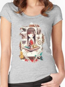 Ib Women's Fitted Scoop T-Shirt