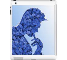 Morrissey in flowers iPad Case/Skin