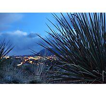 Colorado Springs in Bokeh Form Photographic Print