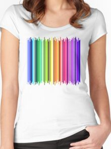 The Rainbow Connection (version 2) Women's Fitted Scoop T-Shirt