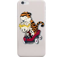 Calvin And Hobbes Good Times iPhone Case/Skin