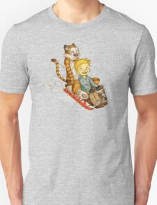 Calvin And Hobbes Speed test T-Shirt