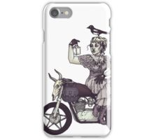 Who Said All Witches Ride Broomsticks? iPhone Case/Skin