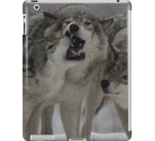 Family Squabble  iPad Case/Skin