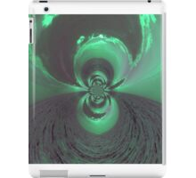 Green Psychedelic Design iPad Case/Skin