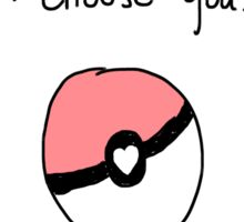"""I Choose You"" Valentine Sticker"