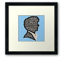 Sherlock #2 Framed Print