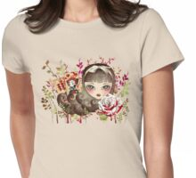 Hidden Garden Womens Fitted T-Shirt